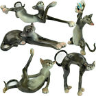 NEW HAND MADE POLYRESIN CAT FIGURINE STATUE ORNAMENT GIFT SET ESTEE COLLECTION