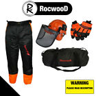 CHAINSAW SAFETY KIT TROUSERS TYPE A, GLOVES & HELMET IDEAL FOR ALL USERS