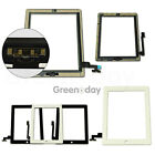 Touch Screen Replacement Digitizer For IPAD2345 mini ic button frame black&white