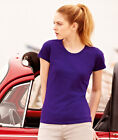 Fruit Of The Loom Lady-Fit Valueweight T-Shirt, Ladies T-Shirt 16 Colours
