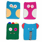 QUIRKY CHARACTER KNITTED iPAD TABLET MOBILE ACCESSORY COVER PROTECTIVE CASE