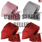 YAC1F04 Various of Colors Checkered Perfect Presents Silk Tie Set 3PT By Y&G