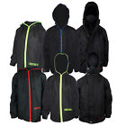Boys Location Waterproof Fleece Lined Black Winter Jacket Kids School Coat New