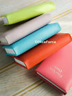 Quality Real Genuine Bright Coloured Leather Small 5 Five Year Diary No Lock UK