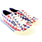 Womens Rocket Dog Jazzin Check It Out Checker Plimsoll Lace Up Trainers UK 3-8