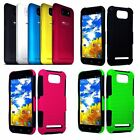 For BLU Studio 5.5 D610a Apex Hard Cover Hybrid  Gel Case Phone Accessory