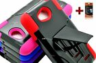 For LG L70 Hybrid Rugged Armor Case Cover Y Stand Colors + SCREEN PROTECTOR HT