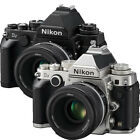 Nikon Df Digital SLR Camera - Black or Silver w/50mm f/1.8G Lens