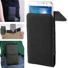 Case PU Leather Belt Clip Bag Cover Skin Holster For SAMSUNG Mobile Smart Phone
