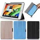 Slim Folding Silk Leather Case Hard Shell Cover For Acer Iconia A1 A1-830 Tablet