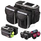 Cycling Bike Bicycle Frame Front Tube Bag Phone Case For HTC Samsung Galaxy S4 5