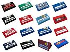 OFFICIAL FOOTBALL CLUB - Money WALLETS (Nylon/Velcro) - New Designs (Youth/Boy)