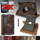 For Samsung Galaxy Tab2 7.0 Sleep/Wake-Up Function Case Cover 360 Rotating Stand