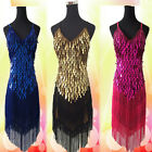 Ballroom Salsa Samba Rumba Latin Dancewear Dress 6Color Sexy Lady Copper Sequins