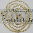 18K YELLOW GOLD CHAIN, ONDULATE FLAT MESH, NECKLACE, MADE IN ITALY, 18KT SHINY