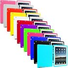 Silicone Soft Skin Case Cover for iPad 4th 3rd 2nd Gen Retina Display 4 3 2