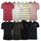 Mens Ben Sherman Retro Indie Skin Polo Shirt Top Mod Regular Fit Tee With Logo