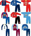 OFFICIAL FOOTBALL CLUB - BOYS PYJAMAS (Long Leg){Sizes from 12 months-10 years}