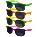 UNISEX MENS LADIES NEON WAYFARER RETRO FASHION DESIGNER STYLE SUNGLASSES UV400
