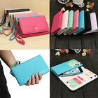 Crown Envelope PU Leather Wallet Case For Sony Xperia C/Z1/Z1S/Z1 Compact/Z2/M2