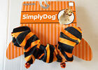 Dog Scrunchie Black Orange Stripes Pet  XS/S M/L NWT