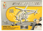 Metal Construction Kit - Helicopter Lorry or Racing Car - Stocking Filler