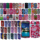 For Samsung Galaxy S4 Active I537 I9295 DIAMOND BLING Crystal Hard Case Cover