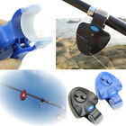 Electronic Buffer Fishing Sound Alarm LED Lamp Alert Bell Fishing Rod Clip-On