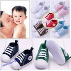 Infant Toddler Baby Boy Girl Soft Sole Crib Shoes Sneaker Age 0-18Months Treedy