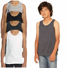 Canvas Youth Jersey Tank Top 100% Combed Ringspun Cotton Kids S,M,L Blank New