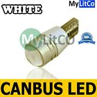 501 CANBUS LED BULB BRIGHT PARKING LIGHTS ICE WHITE FRONT SIDELIGHT 12V T10 W5W