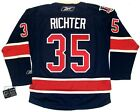 MIKE RICHTER NEW YORK RANGERS REEBOK PREMIER THIRD 85th ANNIVERSARY JERSEY