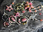 Choker necklace TOURMALINE gemstone wire wrapped pendant necklace FAIRY TREE
