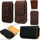 LUXURY LEATHER WALLET CASE COVER FOR APPLE iPHONE MODELS