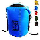 Karana Ocean Dry Travel Waterproof Pack Rucksack Shoulder Day Bag 30L 30 Litre