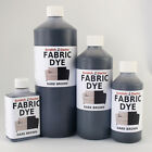 DARK BROWN Liquid Fabric Dye for Sofa, Clothes, Denim, Upholstery etc. ALL SIZES
