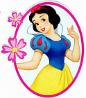 "5-8"" DISNEY PRINCESS SNOW WHITE WALL STICKER GLOSSY BORDER CHARACTER CUT OUT"