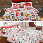 The Beano Collection Dennis Menace Retro Boys Kids Duvet Quilt Cover Bedding Set