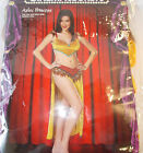 Aztec Princess Mexican Indian Adult Costume Top Skirt 8-10 12-14 NIP