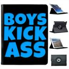 Boys Kick Ass Folio Wallet Leather Case For iPad 2, 3 & 4