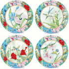 Ceramic Decals Hummingbird Humming Bird Floral 2 Styles  7+in Plate image