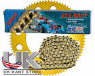 114 Link CZ O Ring 219 Pitch Kart Chain & Sprocket Deal Best Price
