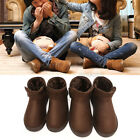 Fashion Womens Ladies Mens Winter Warm Snow Ankle Boots Faux Fur Lined Shoes