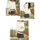 Korean Style Women's Ladies Hollow Loose Bat Sleeve Air-Conditioned Tops Blouses