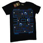Sesame Street Cookie Monster Pac Man Style OFFICIAL Retro Gaming T-Shirt