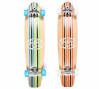 "Two Bare Feet ""The 827"" Complete Carving Longboard 40"" x 9"" Cruiser Skateboard"