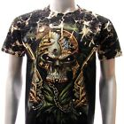 b45 Survivor T-shirt M L XL XXL Tattoo STUD Skull Dead Biker Casual Men Graffiti