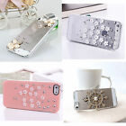 Fashion Rhinestone Series Skins Protective Hard Case Cover For iPhone 4 4S