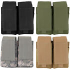Every Day Carry Tactical Velcro & MOLLE 5.56 Double Magazine Pouch