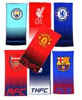 OFFICIAL FOOTBALL CLUB - TOWEL Beach/Home/Bathroom -All Clubs (100% Cotton)
